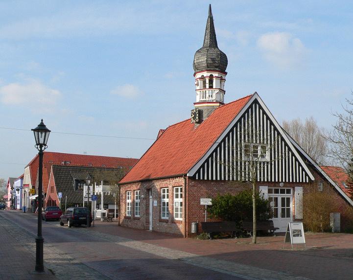 Altes Rathaus, heutiges Künstlerhaus von Hooksiel