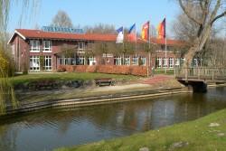 Gästehaus des Küstenbadeortes Hooksiel